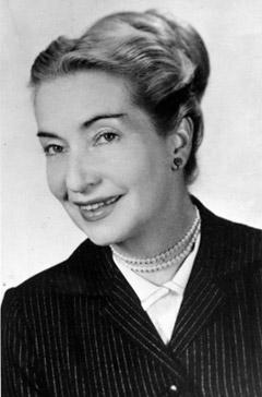 Picture of Elizabeth Klarer. (Image source: http://www.universe-people.com/english/svetelna_knihovna/obrazky/beyond_the_light_barrier_obr_02.jpg)