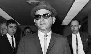 Mob boss Sam Giancana.