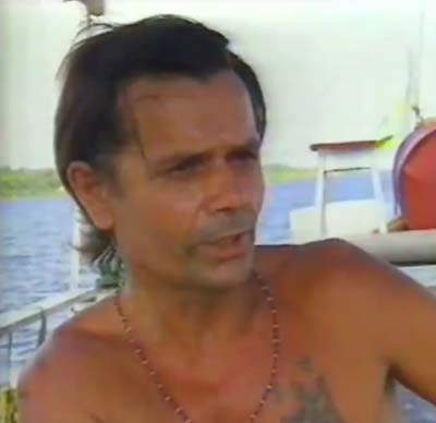 Tatunca Nara in a 1990 documentary. (Image source here.)