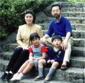 A picture of the Miyazawa family.